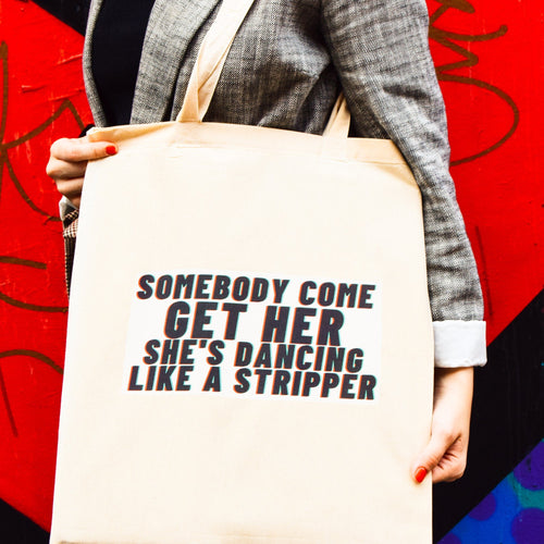 Stripper Tote Bag - Luna