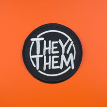 They/Them Circle Patch | Luna