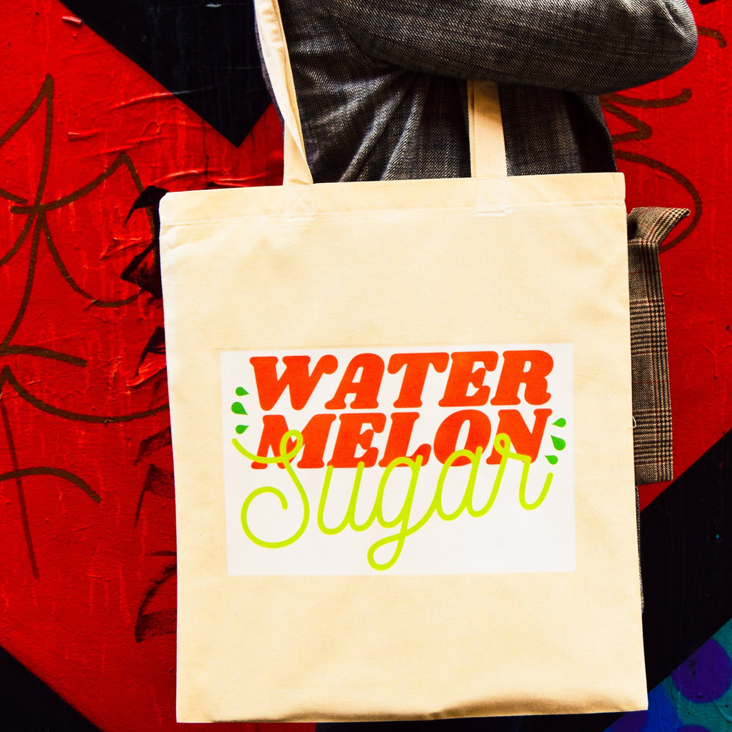 Watermelon Sugar Tote Bag - Luna