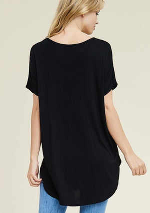 Casual Days Tunic - Black