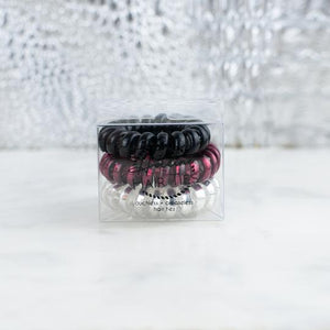 HOTLINE HAIR TIES - LADY BUG MINI SET