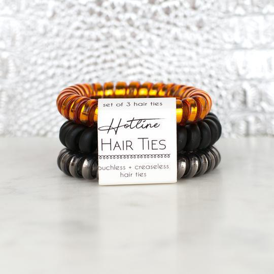 HOTLINE HAIR TIES - BONFIRE SET