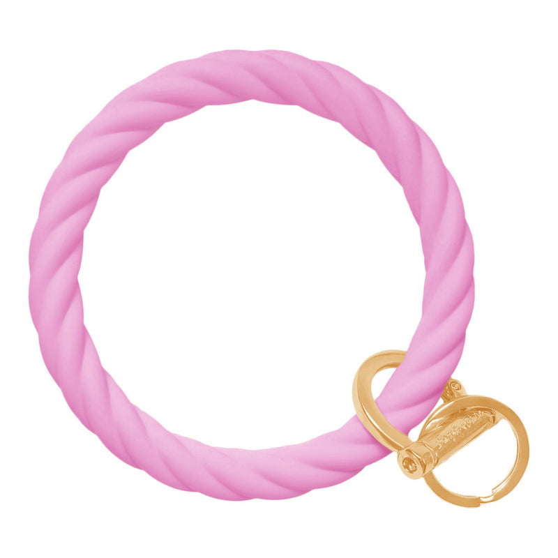 Bangle And Babe - Twist Bright Pink