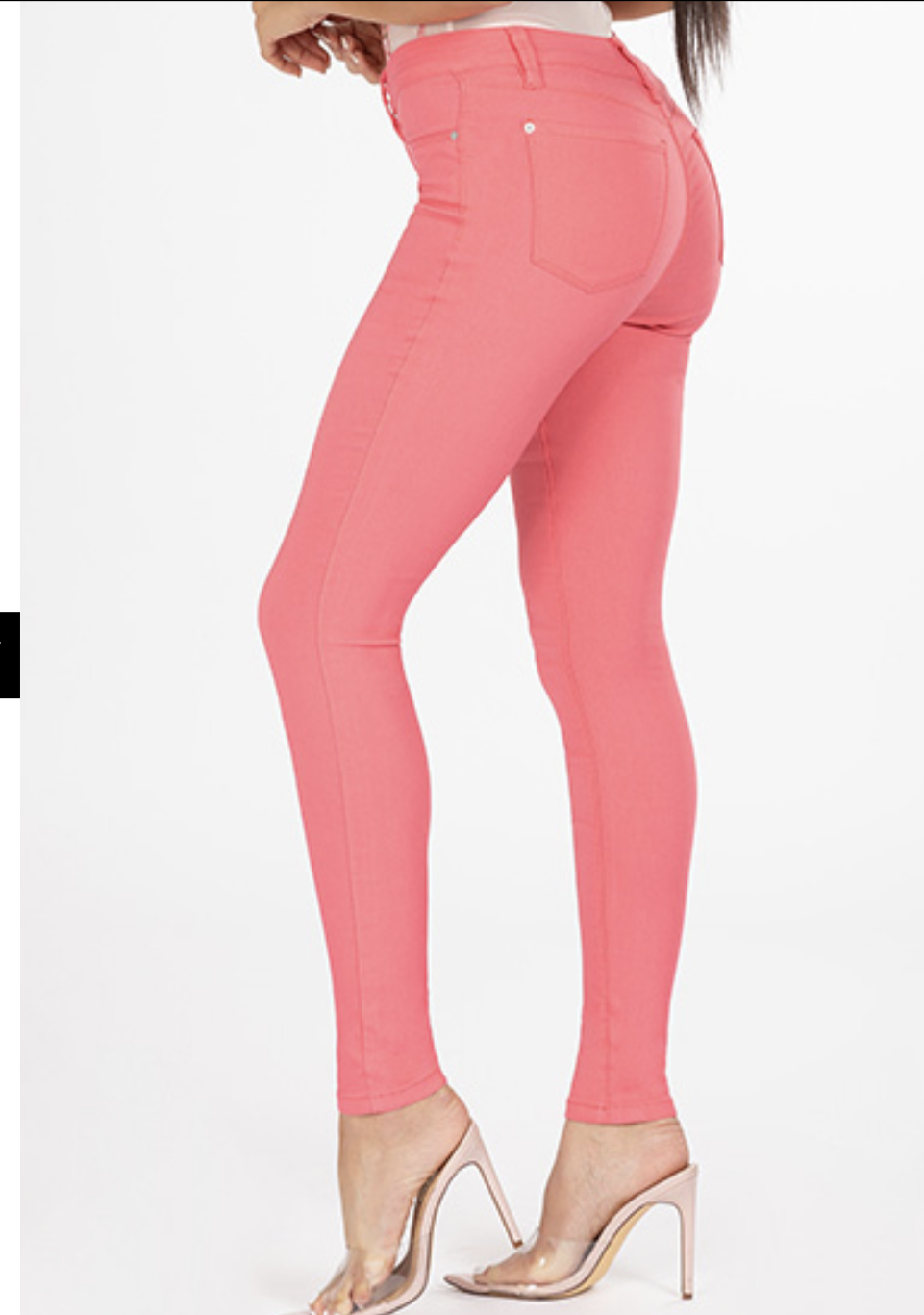 YMI Hyper Stretch Skinnies - Pink