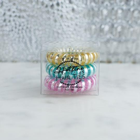 HOTLINE HAIR TIES - MACAROON MINI SET