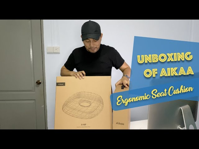 Unboxing of Aikaa Ergonomic Seat Cushion
