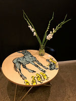 Hand Painted Breakfast Tables 120cm