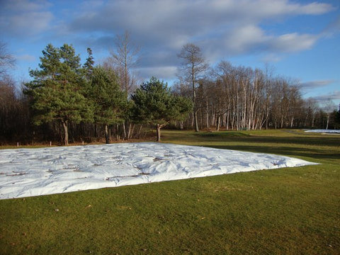 Turf Covers for Putting Greens/Baseball Fields