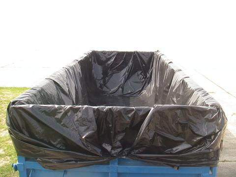 "22' Container Liner. 120"" Deep, 3 MIL Thick (4 Per Box) - kym-industries"