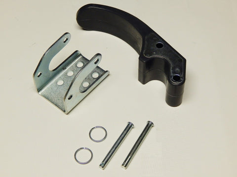 "Complete Rubber Tarp Stop - 3"" Upright, Bracket and Pins - kym-industries"