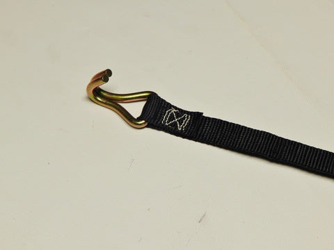 "1"" Ridge Strap with Hook 46' Length - kym-industries"