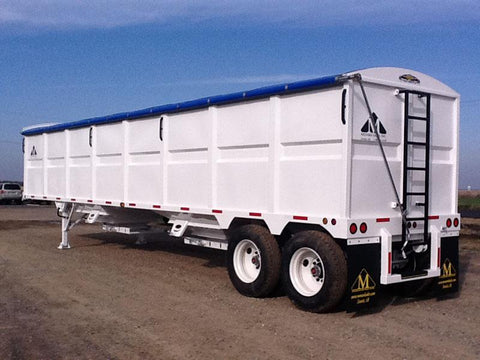 Side Roll Kits For Trailers Not Requiring Tarp Bows (20'-50' Coverage)