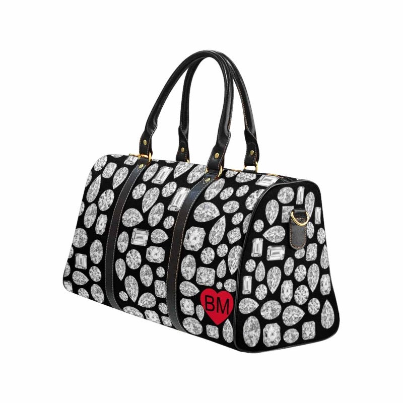 CUSTOMIZABLE 💎 Large Diamond Duffel (Black)