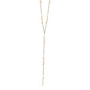 Tri Colored Sparkler Lariat