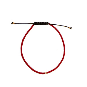 Red String Diamond Bracelet