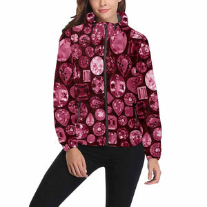 Garnet Gemstone Jacket (Black)