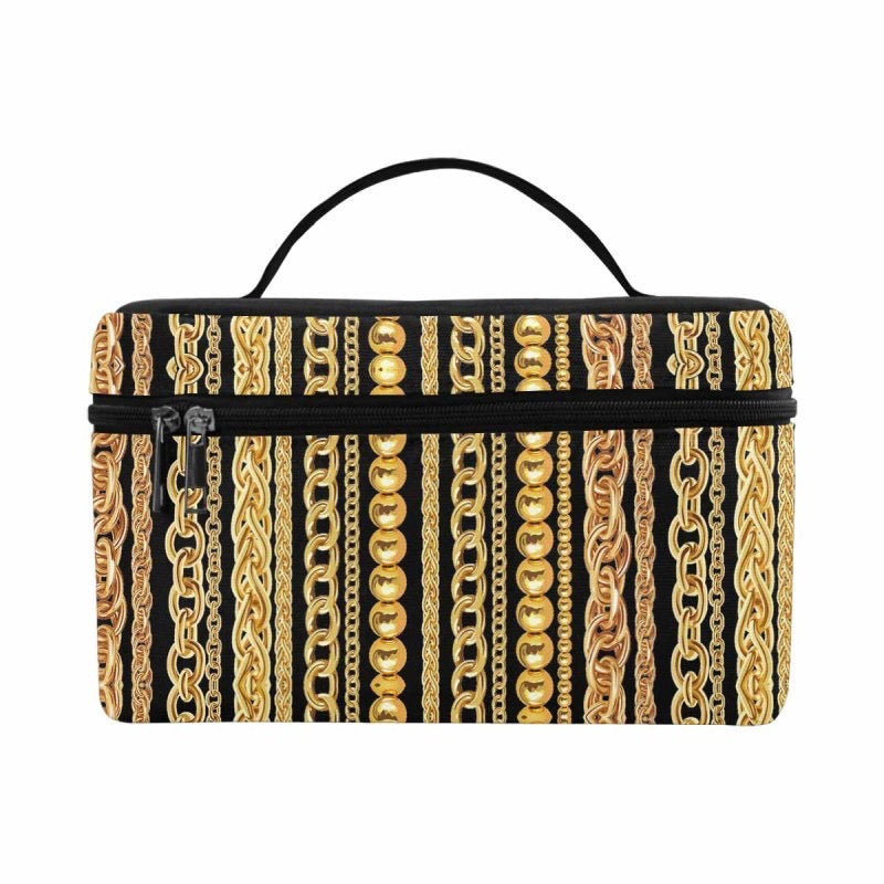 Gold Chain Travel Bag (Black)