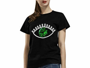 Emerald Evil 👁 T-Shirt (Black)