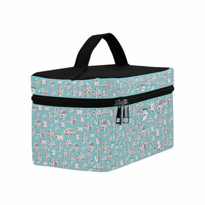 Robin Egg Blue 💎 Cosmetic Travel Bag