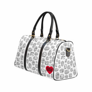 CUSTOMIZABLE 💎 Large Diamond Duffel (White)
