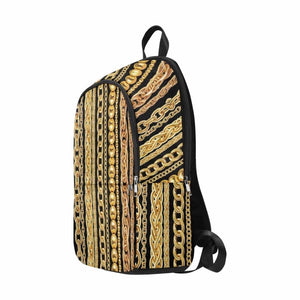 Gold Chain Backpack (Black)