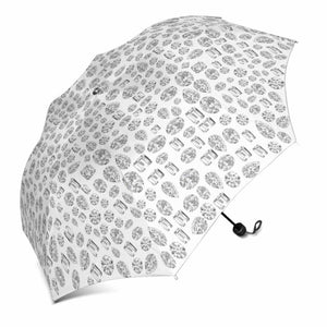 """You are a GEM"" Diamond 💎 Umbrella (White)"