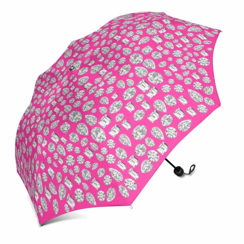 """You are a GEM"" 💎 Umbrella (Neon Pink)"