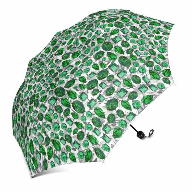 White Birthstone Umbrella