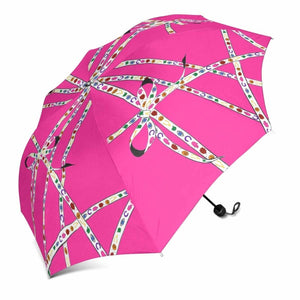 """Lucky Charm Ribbon"" Umbrella (Pink)"