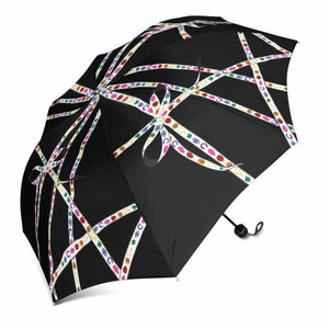 """Lucky Charm Ribbon"" Umbrella (Black)"