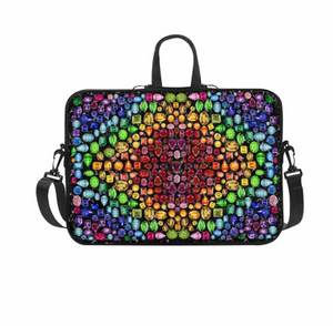 Rainbow Gem Laptop Bag