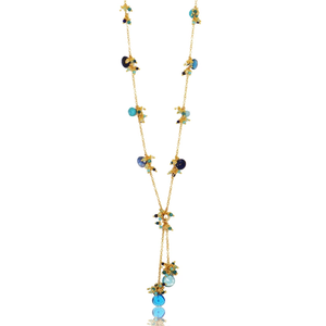 Linked Jellybean Lariat