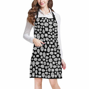 """Diamond"" Apron (Black)"