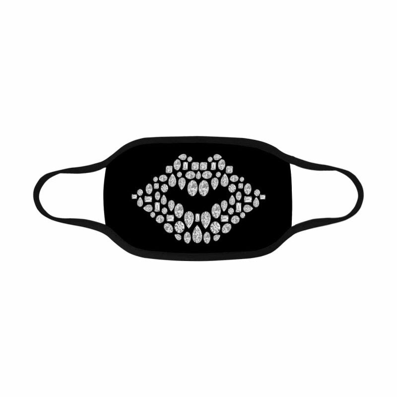 💎 Lips Face Mask (Black)