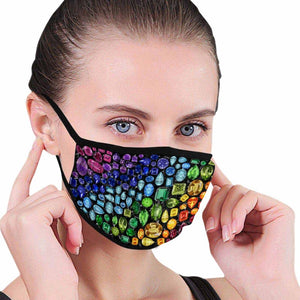 🌈 Gem Face Mask (Black)