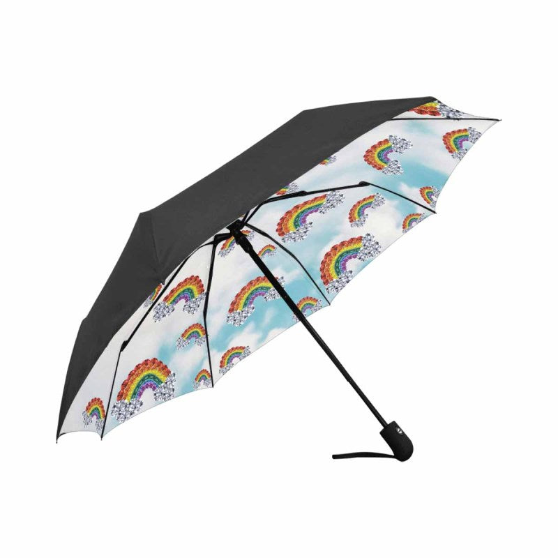 Gem Rainbow In The Clouds Umbrella (Automatic)