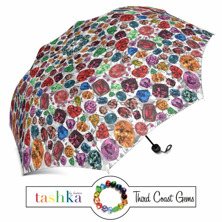 Third Coast Gems x Tashka Garnet Umbrella (Regular)