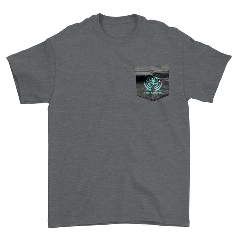 """X"" Frog T Shirt with pocket from POD Tour"