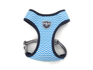Blue Chevron vest harness