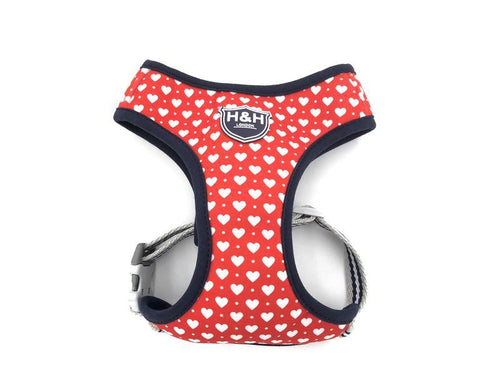 Red Heart vest harness