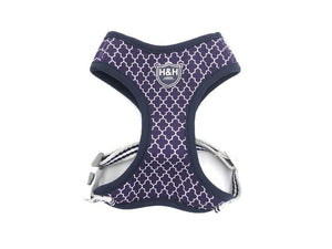 Purple Geometric vest harness