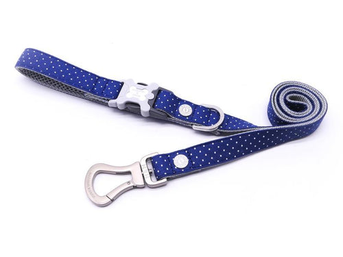 Hugo & Hudson Polka Dot Easy Attachable Dog Lead