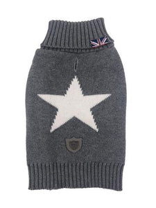 Sydney & Co Grey Star  Jumper