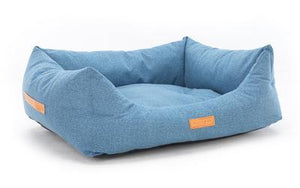 Chenille Tweed Dog Bed - Rayleigh Nest