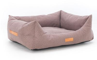 Chenille Tweed Dog Bed - Sherbourne Nest