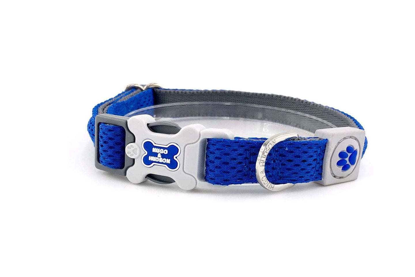 Breathable Mesh Dog Leash & Collar - Blue Mesh Collar & Lead Combination