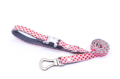 Breathable Mesh Dog Leash - Hugo & Hudson Watermelon Easy Attachable Dog Lead