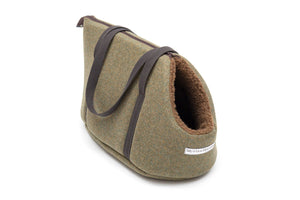 Dog Carrier - Forrest Green Mutts & Hounds Dog Carrier