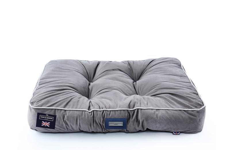 Hugo & Hudson Grey Cushion Bed