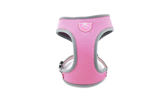 Harness - Hugo & Hudson Pink Mesh Vest Harness